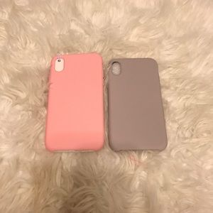 Brand NEW! 2 Piece Soft Silicone iPhone XR Case